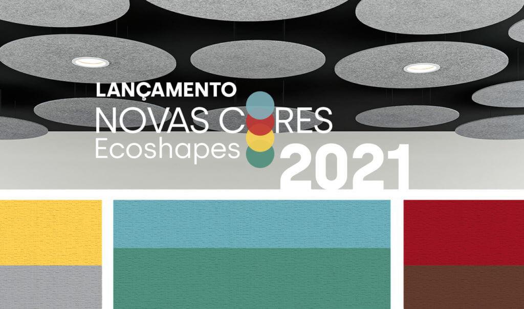 Novas Cores Ecoshapes: Escolha o que você ouve, defina como você vive!