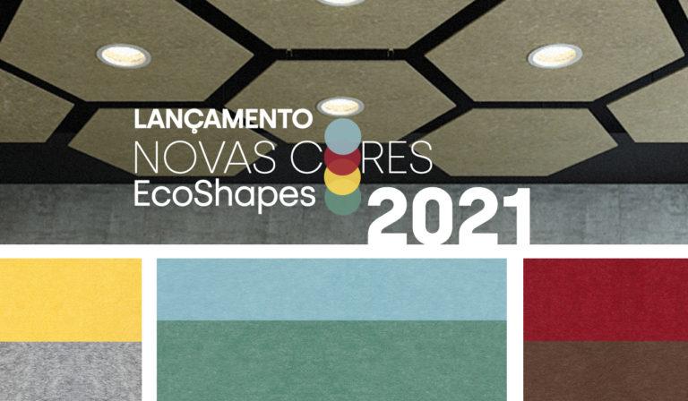 Novas Cores EcoShapes 2021